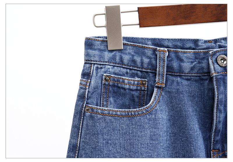Lucyever Fashion Korean Summer Women Denim Skirt High Waist Black Mini Skirts Package Hip Blue Jeans Harajuku Plus Size Cotton 37
