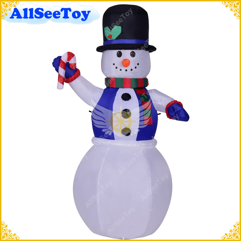 Festival Inflatable Snowman Different models for Christmas Air blower and Light Included x085 hot sell giant 4 m christmas inflatable snowman for christmas decoration with air blower