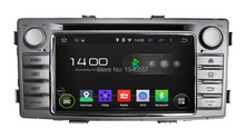 Quad Core 2 din 6.2″ Android 5.1 Car dvd player for Toyota Hilux 2012 Car Radio GPS 3G WIFI Bluetooth TV USB DVR OBD 16GB ROM