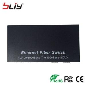 Image 5 - 2 gniazdo sfp światłowodowy przełącznik gigabitowy sfp na 4 porty rj45 UTP media konwerter ethernet SC jednomodowy terminal FTTH GPON