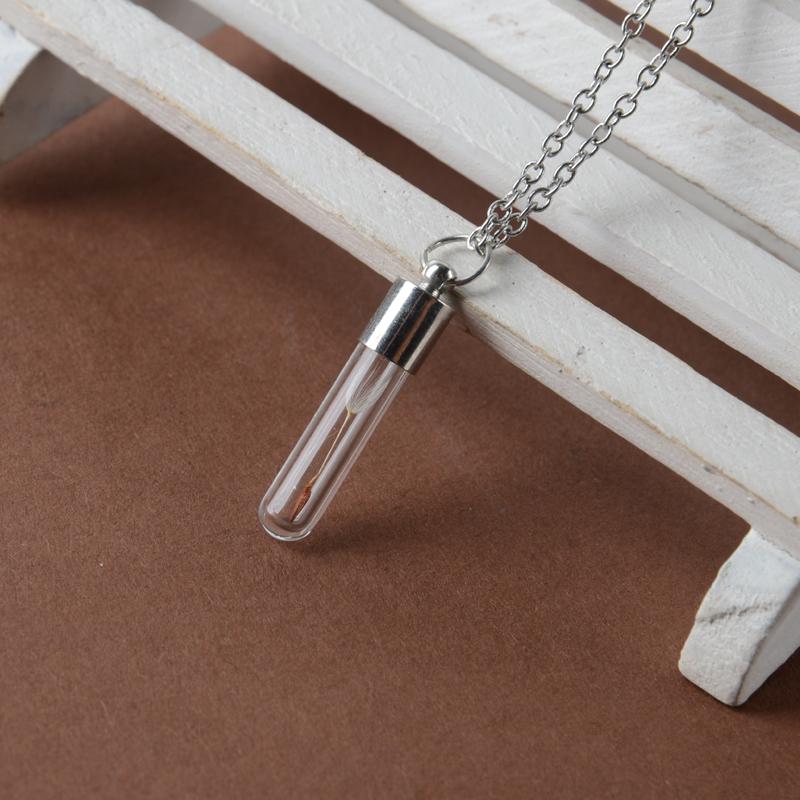 Cylinder Vial Necklace