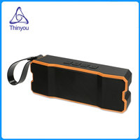 Thinyou Outdoor Portable Wireless Bluetooth Speaker Rugged IPX6 Waterproof Subwoofer Hands Free Call Mic Speakers For