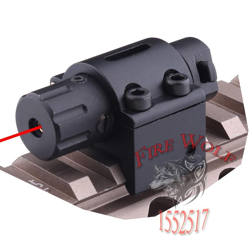 Hunting Mini Tactical Red Laser Gun Sight For Pistols Weaver Mount Hunting Laser Sight