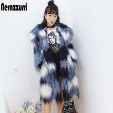 Long Gradual Coat Fluffy