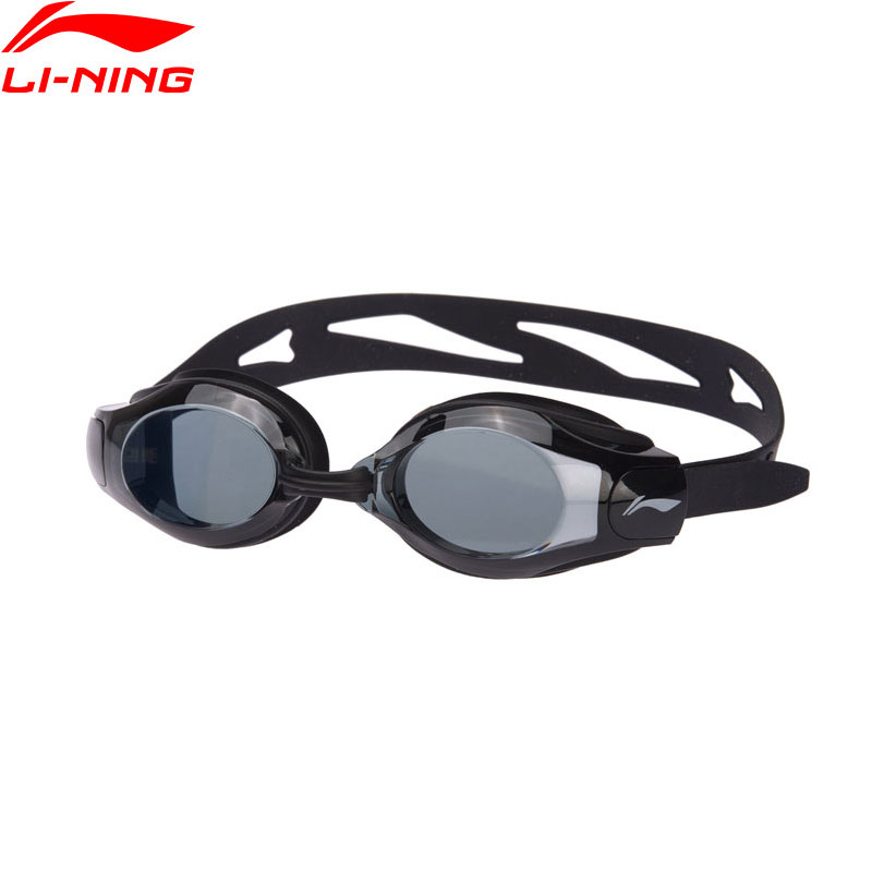 Li-Ning Unisex Professional Swim Eyewear National Diving Team Anti-UV PC Swimming Glasses LiNing Sport Goggles ASJN004 ZJY022