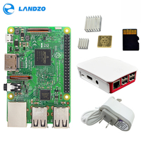 A Raspberry Pi 3 Model B Starter Kit Pi 3 Board Pi 3 Case American Standard
