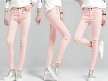 Plus size spring and autumn women ankle length pencil pants female high waist skinny leggings  lady slim thin pants trousers