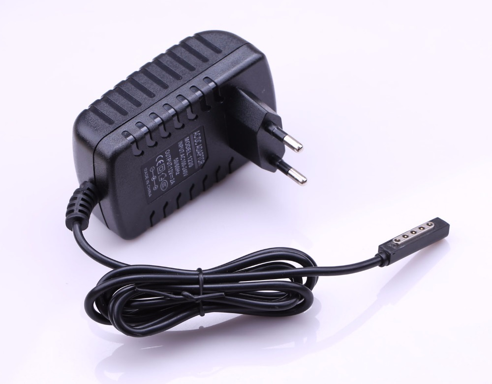 High Quality 12V 2A Tablet Wall Charger Travel Plug For Microsoft Surface RT / Surface 2 /Pro 1 Power Supply Adapter Tab Charger