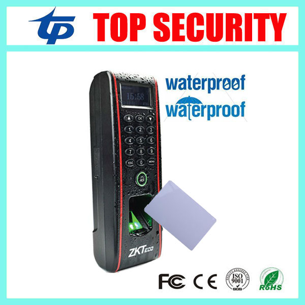 TF1700 IP65 waterproof fingerprint time attendance and access control with TCP IP for out door use