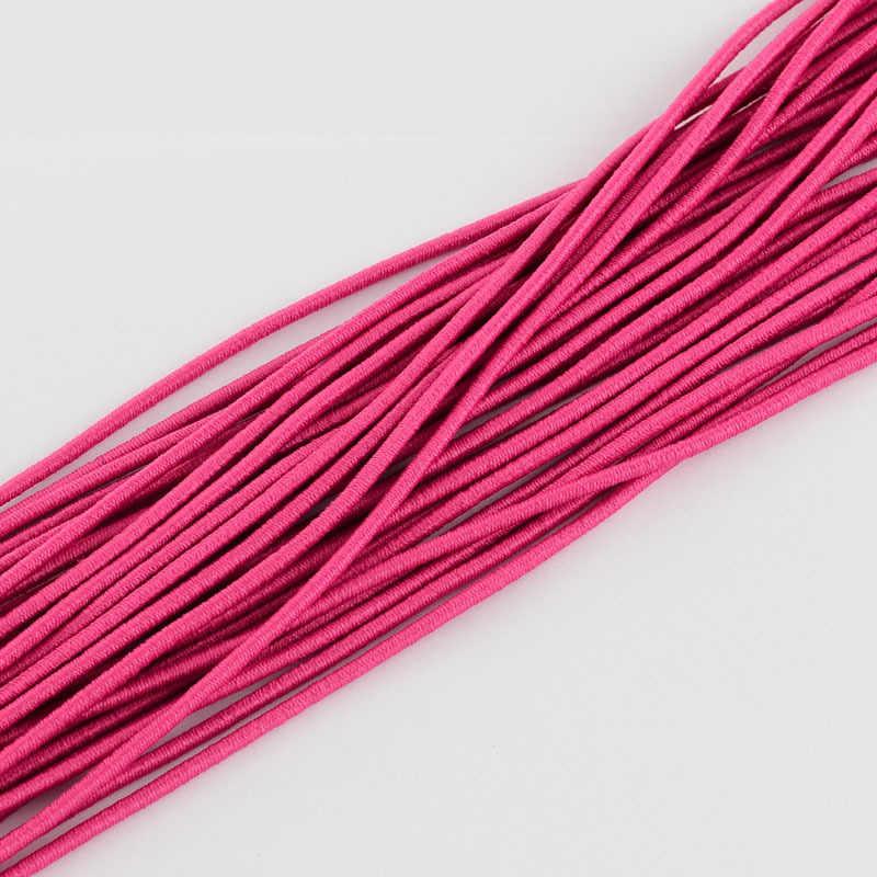 مرونة تمتد الحبل 2 ملليمتر مجوهرات النتائج الخرز الديكور سلسلة الحبل حزام حبل الخرزة سوار حبل مرن حوالي 100 متر /حزمة