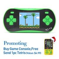2.5 Pouce Jeu De Poche Lecteur Intégré 260 Classique Jeux Vidéo Console de jeu en AV Câble TV Sortie K Portable Jeu Console