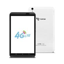 """Yuntab 8 """"Android 6.0 Tablet PC H8 Quad-Core 4G Teléfono Móvil con soporte de doble cámara de doble tarjeta SIM 4500 mAh de la batería (blanco)"""