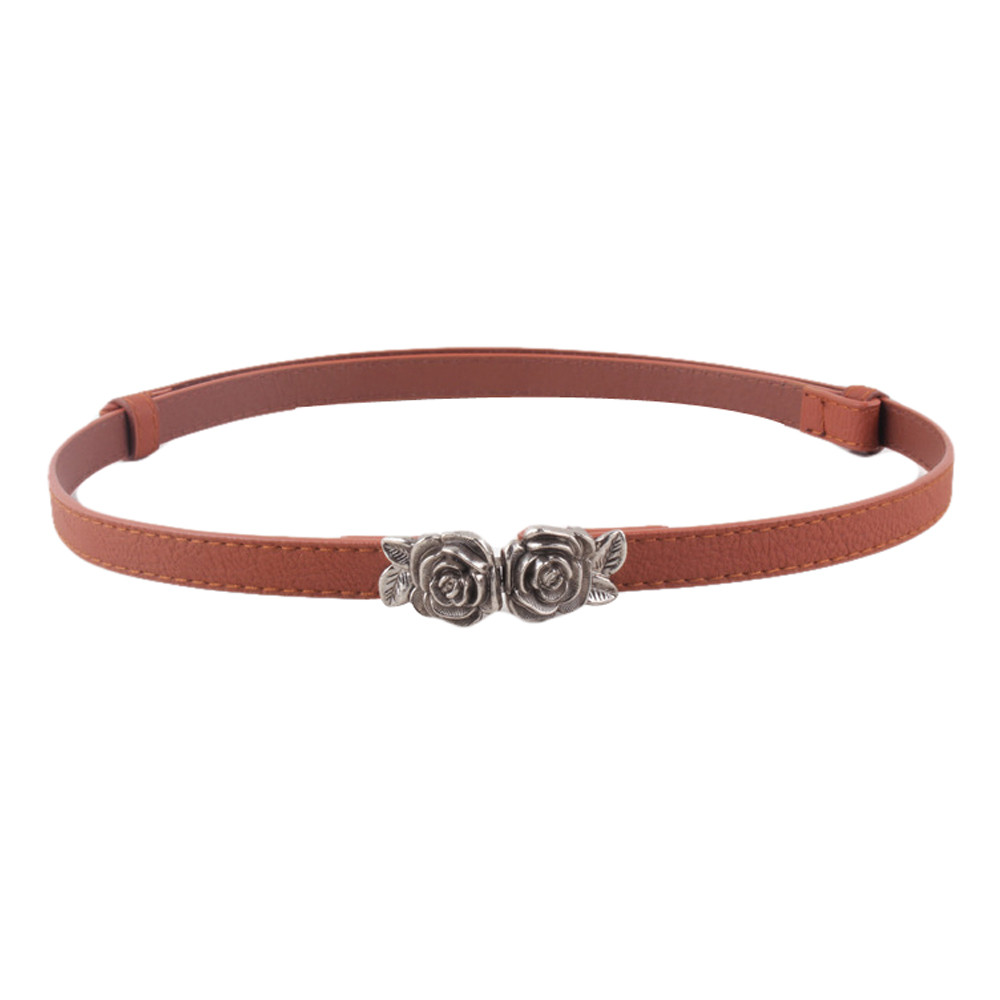 Moda Cinturon Mujer Cinturones de Cuero Genuino para Mujeres Dise ñ o de  Repujado de 1a60628067d9