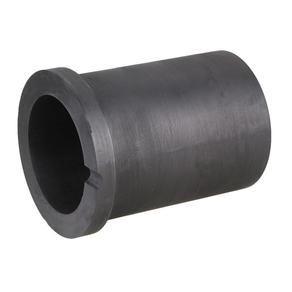 High Temperature Resistance 3KG Capacity Monocyclic Graphite Crucible for Metal Melting graphite crucible for melting metal high purity graphite crucible 3kg