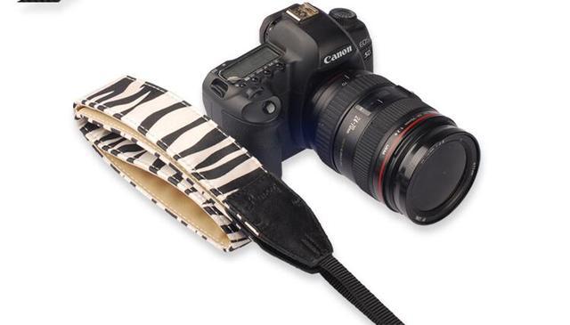 Vintage Camera Strap Leopard Series