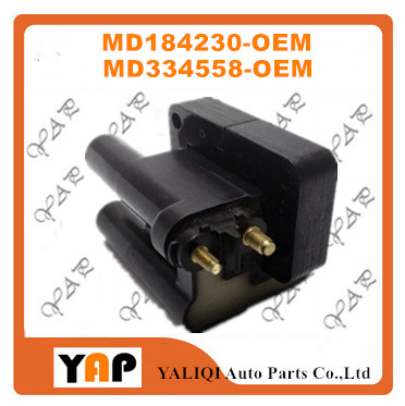 New High Quality Ignition Coil FOR FITMitsubishi 3000GT Eclipse 2.0L 3.0L L4 V6 MD184230 MD158409 MD334558 1991-1999
