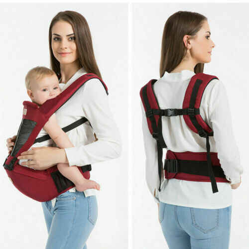 יילוד מנשא קנגורו פעוט קלע לעטוף נייד תינוקות Hipseat רך לנשימה מתכווננת ירך מושב 0-36 חודשים