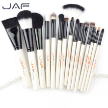 JAF Brand 15pcs/set High Quality Professional Makeup Brushes Set Facial Make Up Blush Powder Foundation Cosmetic Brush Tool