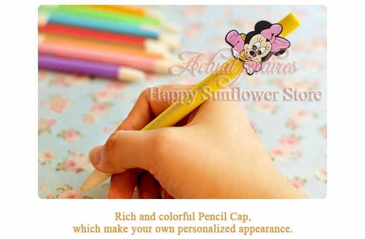 14 pçs/set super herói caneta apertos dos desenhos animados pvc lápis topper/tampas caneta acessórios sacos/roupas acessórios do miúdo presente festa favores