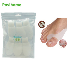6Pcs Foot Massage Winter Medical Silicone Gel Foot Pad Valgus Hallux Correction Truck Toe Bone Insole  Z43201
