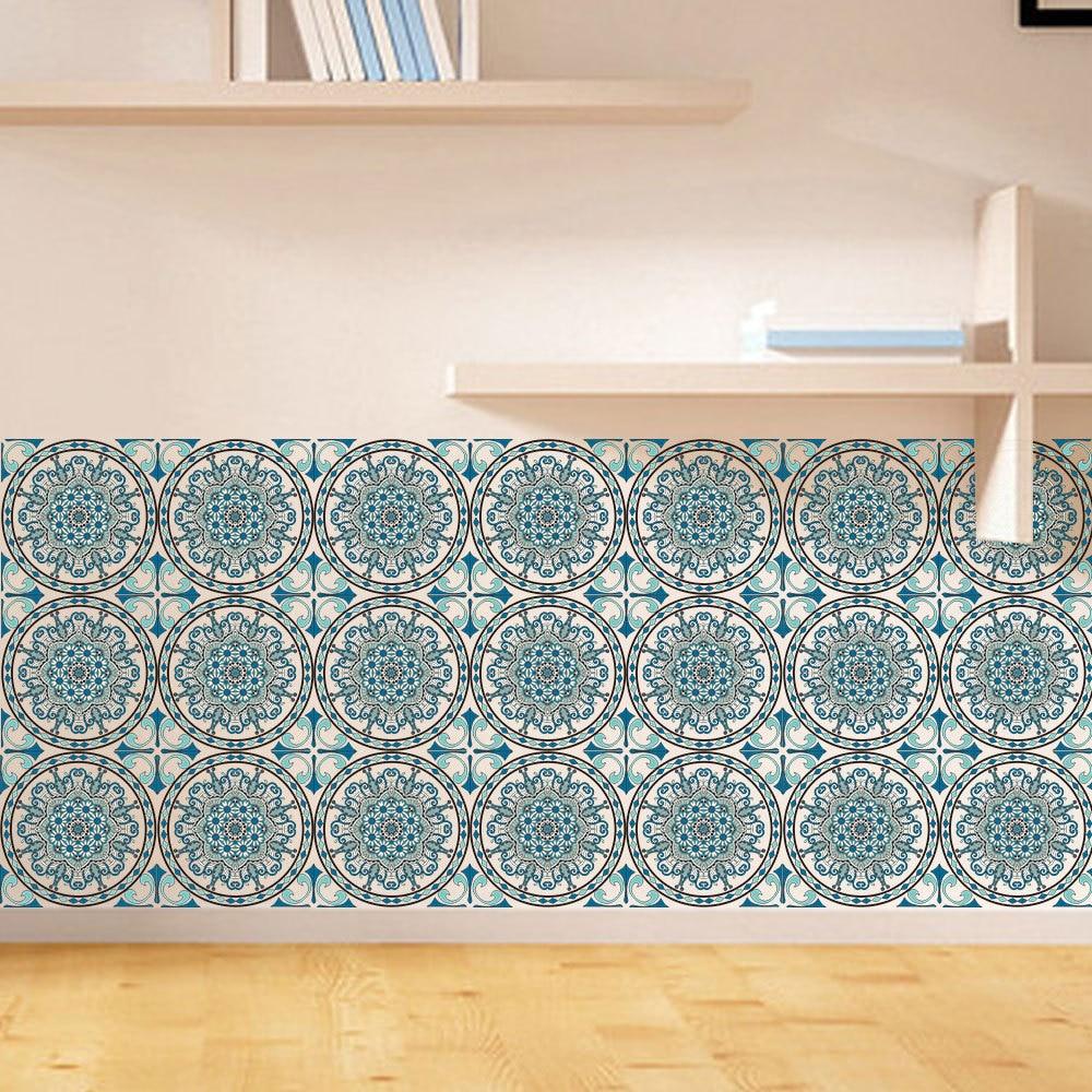 Aliexpress.com : Buy 6pcs/set 3D Flowers Pattern Tile ...