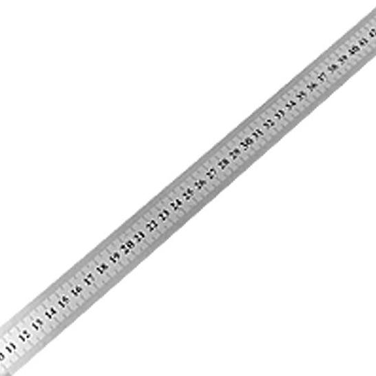 BLEL Hot 60cm Stainless Metal Measuring Straight Ruler