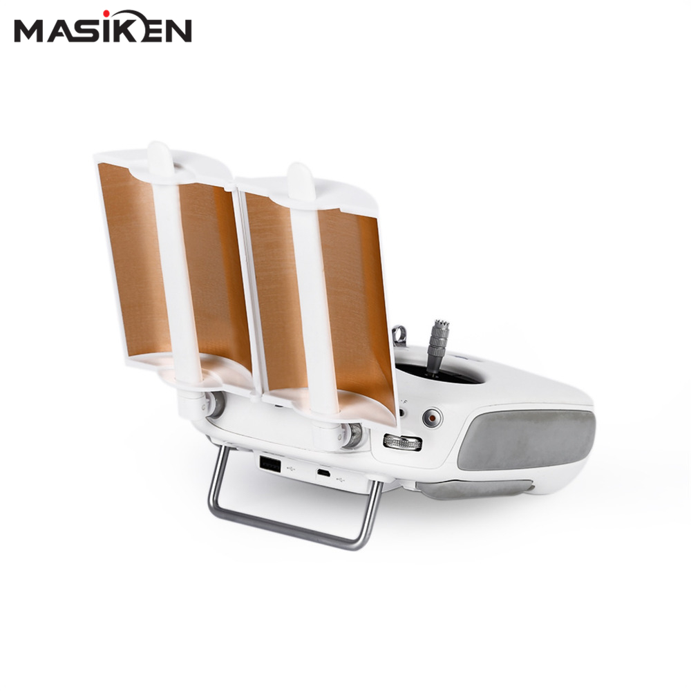 MASiKEN Antenna Signal Booster For DJI Phantom 4 Drone Golden Foldable Extended Range Parabolic Accessories стоимость