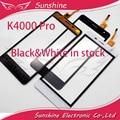 Black & White Toque Para OUKITEL K4000 Pro Toque Digitador Da Tela Do Painel