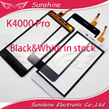Black&White Touch For OUKITEL K4000 Pro Touch Screen Digitizer Panel