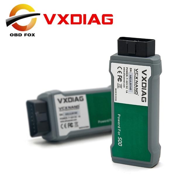 VXDIAG VCX NANO for Land Rover and for Jaguar Software SSD V141 for All Protocols VXDIAG VCX NANO 2IN1 DHL free