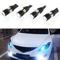 2 х T10 из светодиодов W5W автомобилей из светодиодов авто лампы 12 В лампочки с объектив проектора для форд фокус Cruze Tiguan интерьер упаковка стайлинга автомобилей