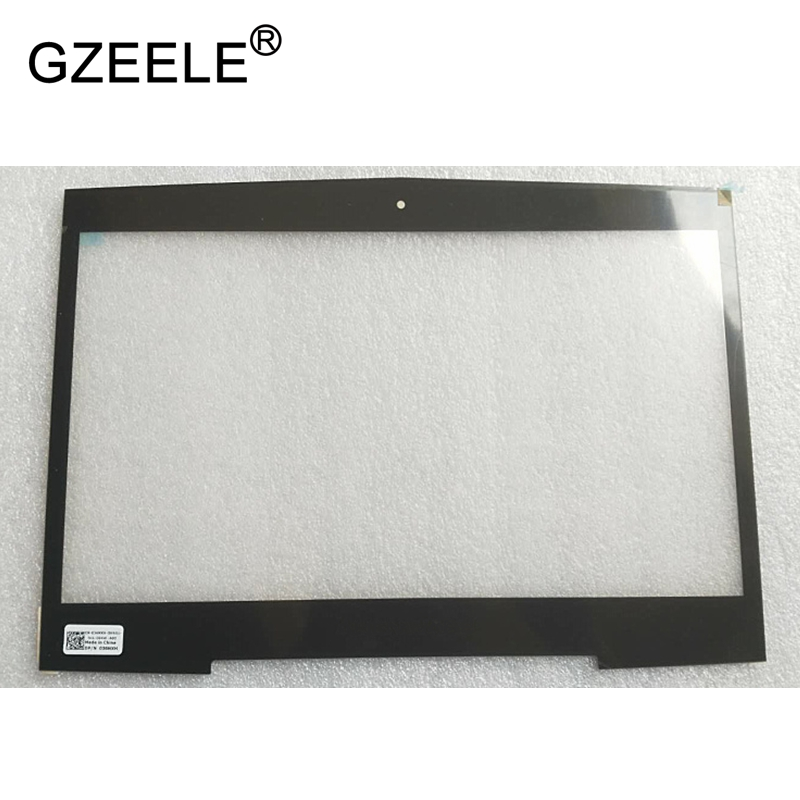 GZEELE new for Dell Alienware M14X R1 R2 14 laptop Front bezel Screen Frame 36NXH 036NXH 14 8v 63wh original new laptop battery for dell alienware m11x m14x r1 r2 battery 0w3vx3 08p6x6 pt6v8