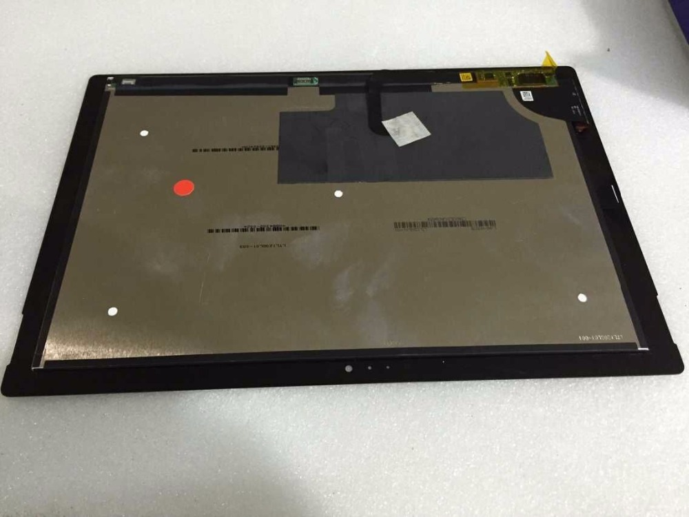 Assembly for Microsoft Surface Pro 3 LCD Screen Touch Digitizer Display Pro3 (1631) Panel TOM12H20 V1.1 LTL120QL01 003 100% original for samsung galaxy note 3 n9005 lcd display screen replacement with frame digitizer assembly free shipping