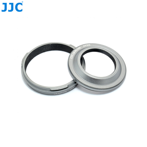 Image 3 - JJC Camera Metal Lens Hood & Lens Adapter for Fujifilm Finepix X100T X100S X100 Digital Camera 30.5mm Lens Hood Filter Diameter