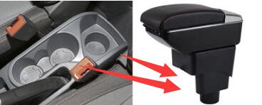 Центральная консоль подлокотник поворотный для Ford Ecosport 2014-2017 коробка для хранения подлокотник 2016 2015 2013