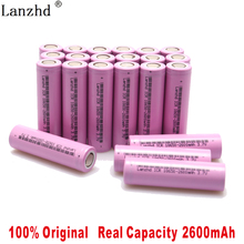 8-40Pcs 18650 Rechargeable Battery 2600mAh li ion Batteries 3.7V for samsung Lithium Flashlight notebook