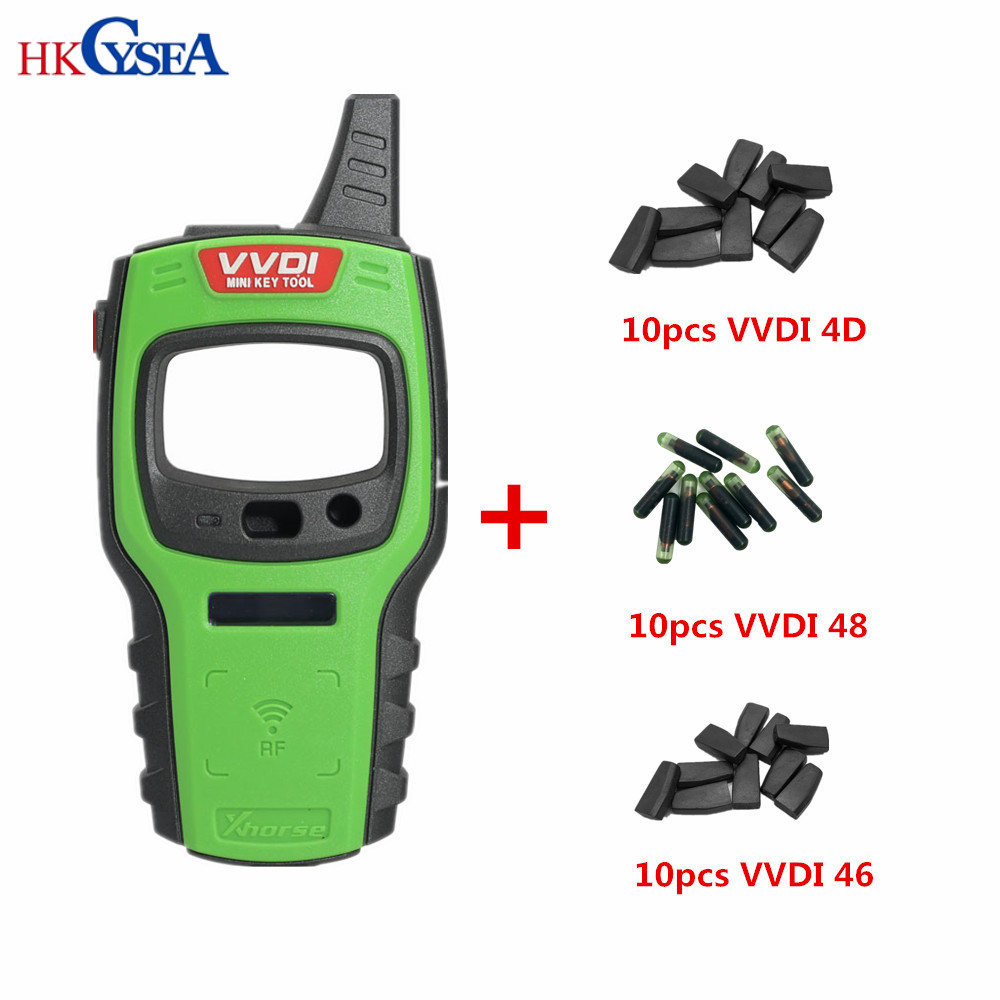 Image 2 - Original Xhorse VVDI Mini Key Tool Remote Key Programmer Support IOS/Android with Super/4D/48/46 Chips Global Version-in Auto Key Programmers from Automobiles & Motorcycles