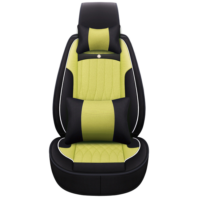 New High Quality Cartoon Flax Car Seat Covers For Subaru Forester