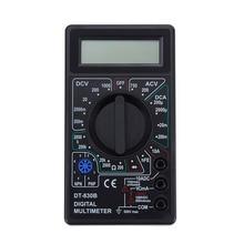 830B LCD digital multimeter AC / DC 750 1000V mini probe for voltmeter ammeter ohm test instrument