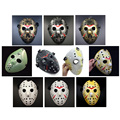 Gold Vintage Party Masks Delicated Jason Voorhees Freddy Hockey Festival Halloween Masquerade Mask Free Shipping