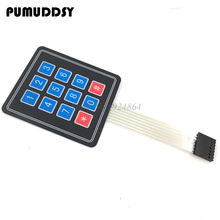 5pcs 12 Key Membrane Switch Keypad 4 x 3 Matrix Array Matrix keyboard new