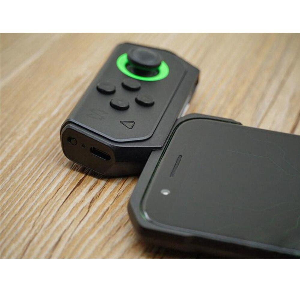 Manette de jeu noir requin avec étui de protection contrôleur de jeu gauche pour Xiaomi téléphone Android manette de jeu sans fil Bluetooth - 6
