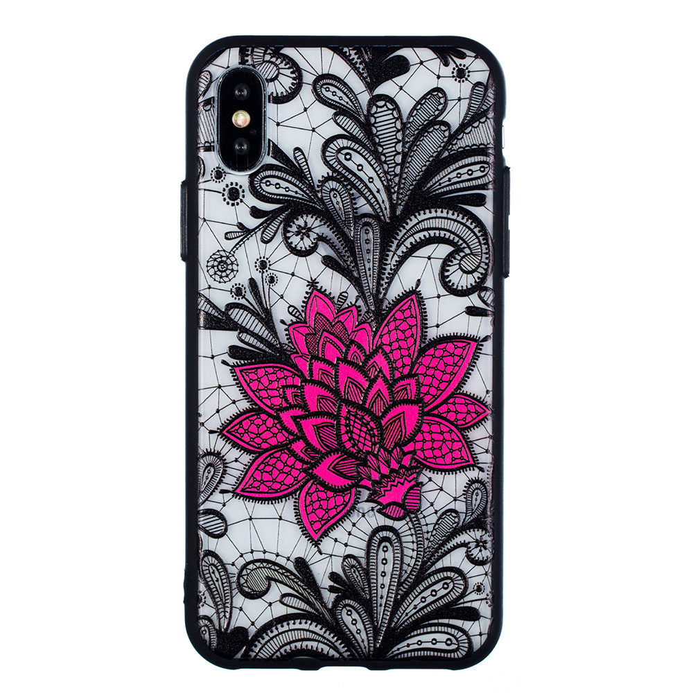 KIPX1059A_1_JONSNOW Phone Case for iPhone 5S 6S 7 8 Plus Emboss Floral Rose Lace Protective Case for iPhone X XR XS Max PC Back Cover