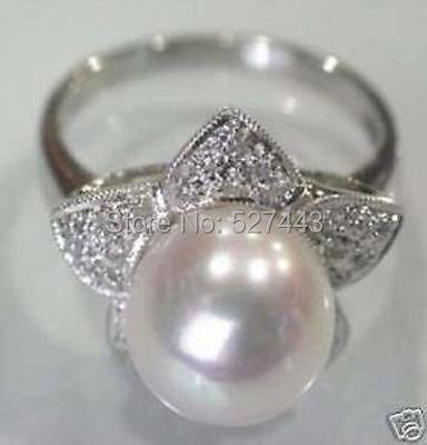 2a9d989eb4fb9 ᓂAtacado frete SIP     branco shell pérola anel da mulher
