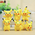 New Arrival 1pcs/lot PVC Pokeball Pikachu Action Figure Toy Collector's Edition Model Kids Birthday Gifts Wholesale