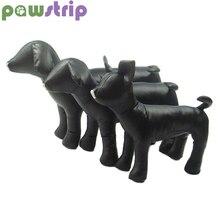 pawstrip 1шт кожа собаки манекен стоя моделей установки коронки дисплей для одежда Одежда воротник Pet игрушки