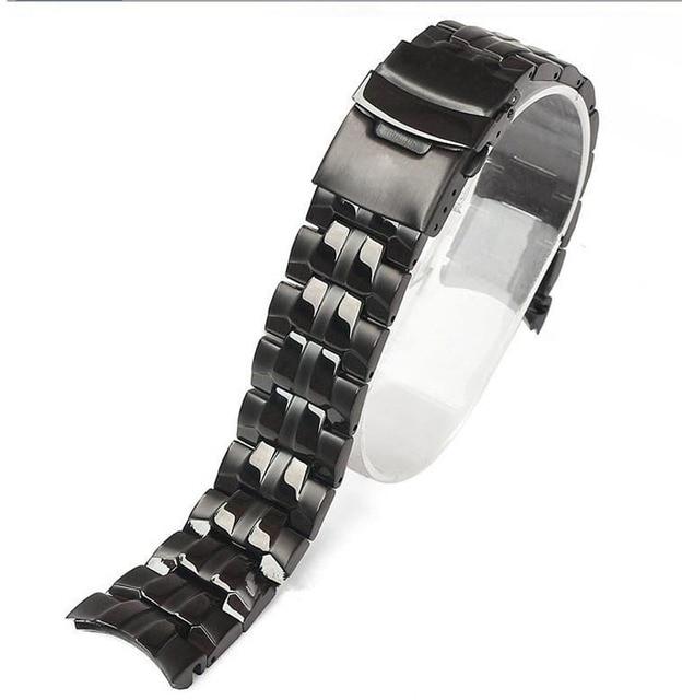 bracelet acier montre casio