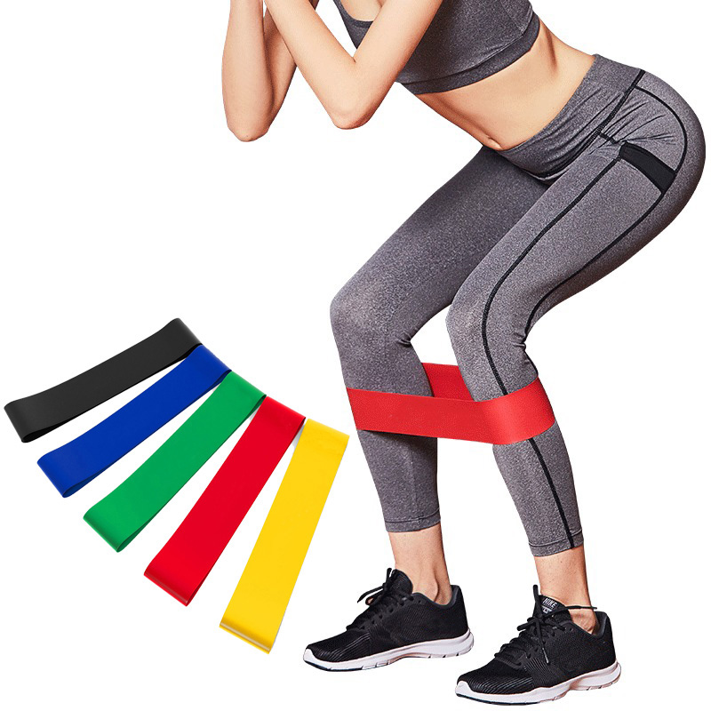 Pilates Resistance Bands Set Fitness Latex Loop BodyBuilding Strength Band Workout Pull Rope Athletic Expander Yoga Expander