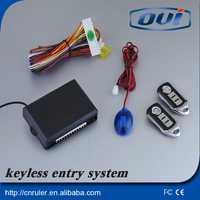 China Manufacturer Wholesale Keyless Entry System Keyless Entry Remote Lock Unlock Auto Smart Keyless Entry System