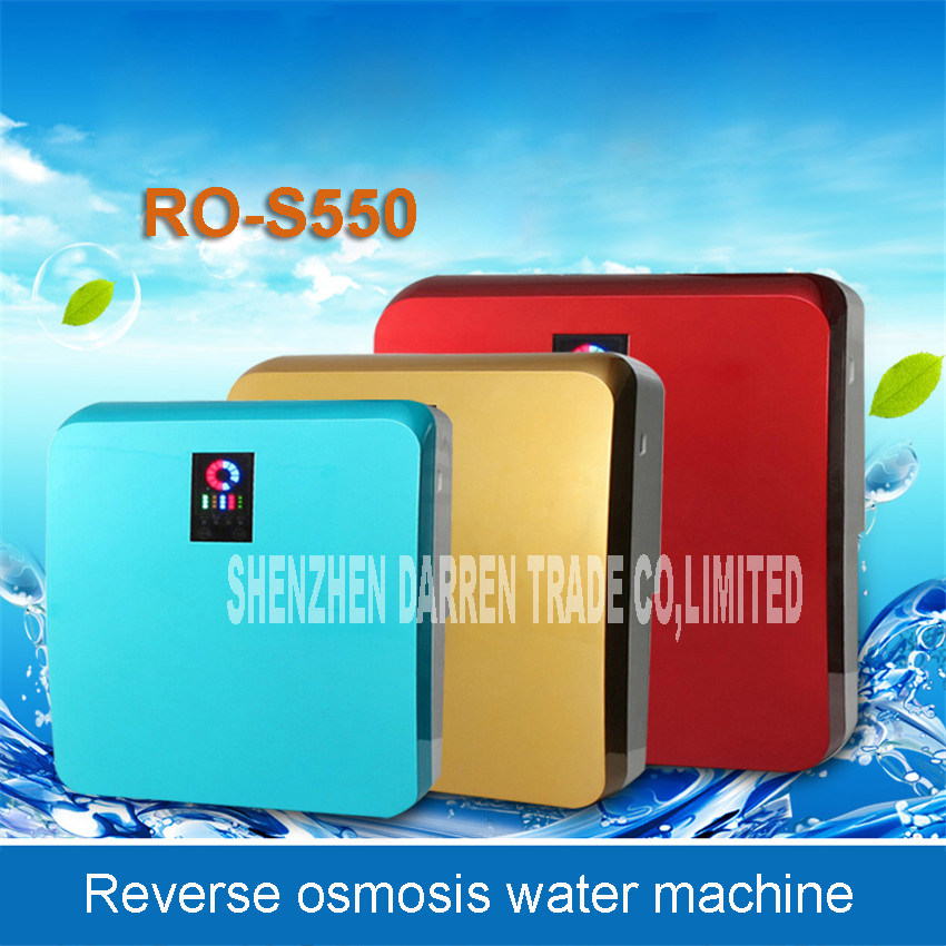1PC New Anti - penetration water machine RO-S550 0.1L / min Direct Drink Water Filter for household Water purifier 100-240V 30W mro101a 5 household water purifier ro